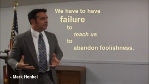 We have to have Failure to teach us - Anti-Socialist - Mark Henkel