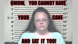 Kim Davis - OMOW, you cannot have your cake and eat it to - National Polygamy Advocate blog - 700x400