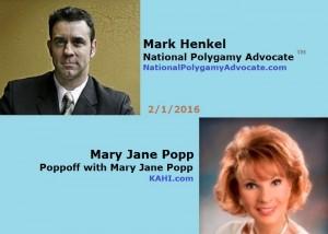 Mark Henkel and Mary Jane Popp