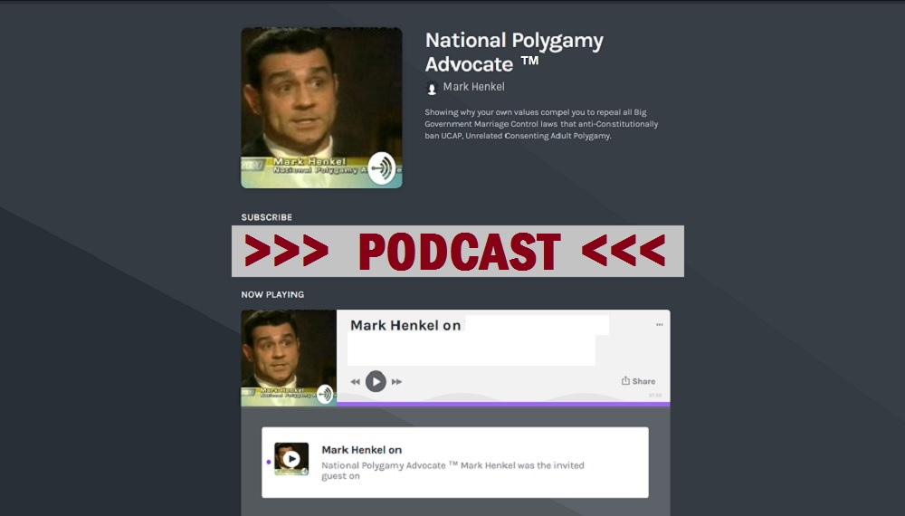 National Polygamy Advocate PODCAST