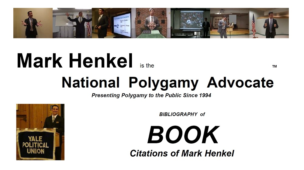 Bibliography of Book Citations of Mark Henkel