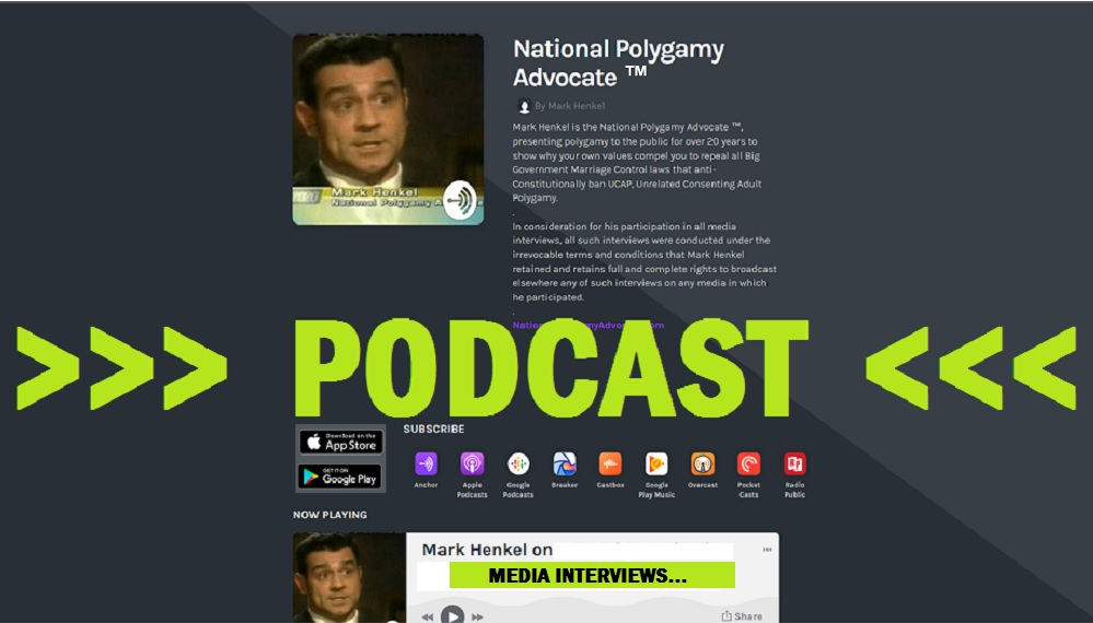 National Polygamy Advocate ™ PODCAST