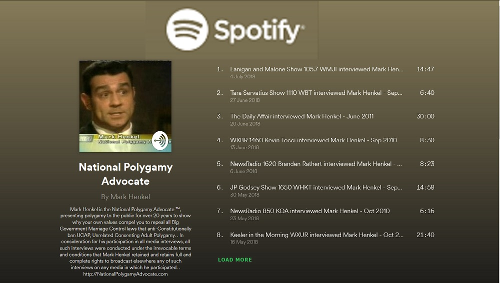 National Polygamy Advocate ™ PODCAST now on Spotify
